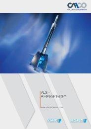 ALS - Axiallagersystem - Pfaff-silberblau