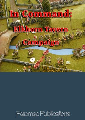 Pea Ridge Campaign - WarGameVault