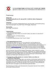 Fiskalmarken - Schweizerischer Ganzsachen-Sammler-Verein