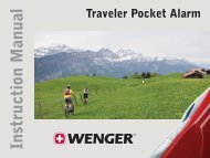 Traveler Pocket Alarm - Wenger
