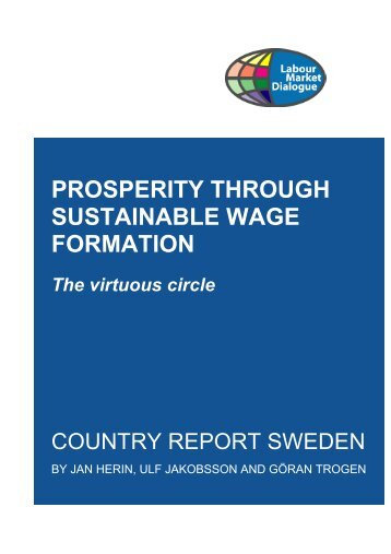 Prosperity through sustainable wage formation (country report ...