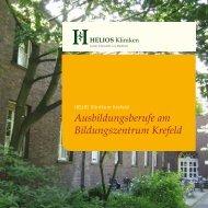 Ausbildungsberufe am Bildungszentrum Krefeld - HELIOS Kliniken ...