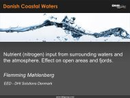 Nutrient (nitrogen) input from surrounding waters and the ...