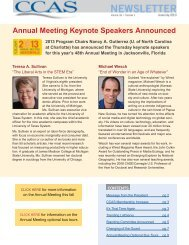 Annual Meeting Keynote Speakers Announced - Council of ...