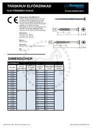 CE-2002141-A1 Träskruv försänkt efz - Gunnebo Industries