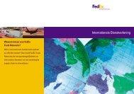 Brochure FedEx Trade Networks - Evo