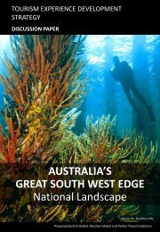 AUSTRALIA'S GREAT SOUTH WEST EDGE National ... - EarthCheck