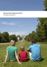 Brazil Sales Mission 2013 - VisitBritain