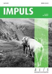 April 2010 IMPULS 4 2010 IMPULS Agrartechnik in Lehre ... - ALIS