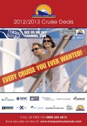 EVERY CRUISE YOU EVER WANTED! - Traveltek