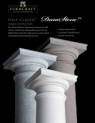 Poly-classic ® DuraStone™ - Turncraft