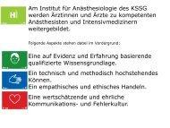 PDF-Format - Institut für Anästhesiologie, Kantonsspital St. Gallen