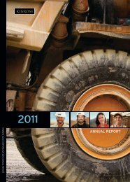 2011 Annual Report - Kinross Gold