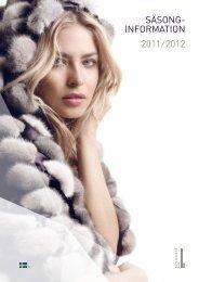 SÄSONG- INFORMATION 2011 ⁄ 2012 - Kopenhagen Fur