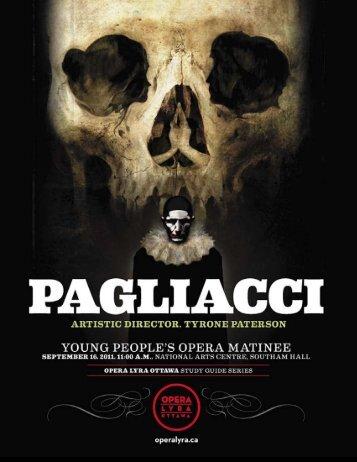 Pagliacci - Opera Lyra Ottawa
