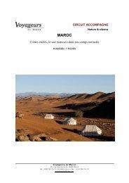 MAROC- Contes étoilés - Voyageurs du Monde