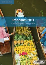 Economics 2013 - Cambridge University Press India