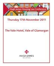 Thursday 17th November 2011 The Vale Hotel, Vale of Glamorgan