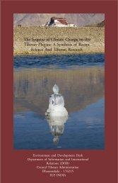 CC report as on 18 Nov. - Tibet Environmental Watch