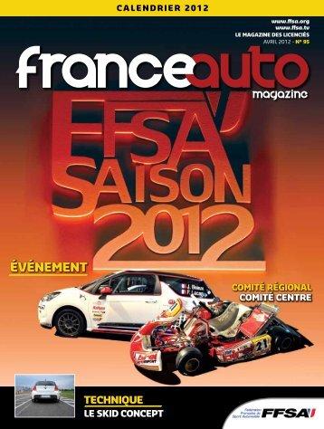 FrANCE Auto n°95 - FFSA