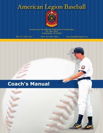 Coach's Manual - The American Legion