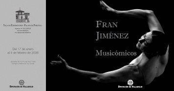 Catalogo Fran Jimenez - Diputación de Valladolid
