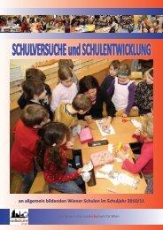 Schulversuchsbroschüre 2010/11 - Referat für Schulversuche und ...