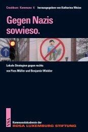 Gegen Nazis sowieso. - VSA Verlag