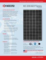 English - KYOCERA Solar