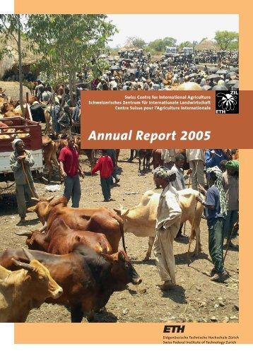 Annual Report 2005 - ETH - North-South Centre North-South Centre