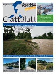 Glatt-Blatt 2013 als PDF