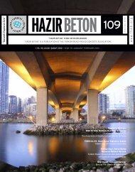 özel dosya : kimyasal katkılar specıal fıle - Türkiye Hazır Beton Birliği