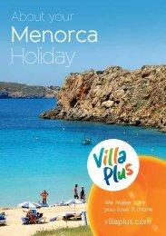 Download Menorca resort guide(pdf) - VillaPlus.com