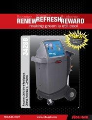 Download Robinair 34288 Spec Sheet - NY Tech Supply