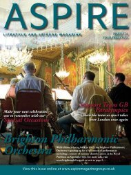 Brighton Philharmonic - Aspire Magazine