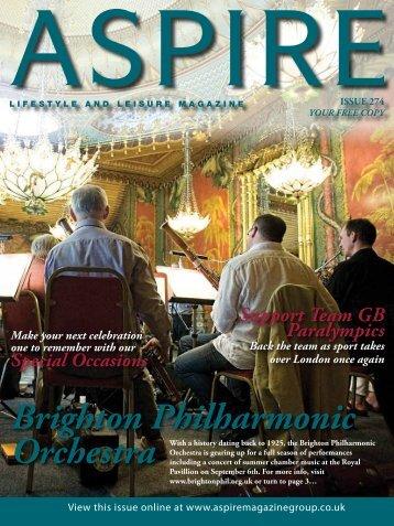 Brighton Philharmonic - Aspire Magazine