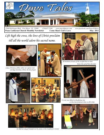 Dove Tales May 2012.pub - Peace Lutheran Church, Fort Myers ...