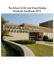 Graduate Handbook - University of Kentucky College of Fine Arts
