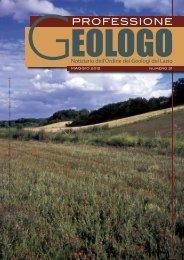 PROFESSIONE - Ordine dei Geologi del Lazio