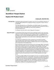 QuantiGene® Reagent System Explore Kit Product Insert
