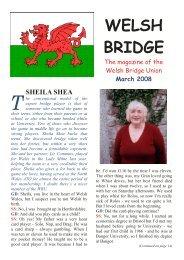 No. 3, March 2008 - Welsh Bridge Union