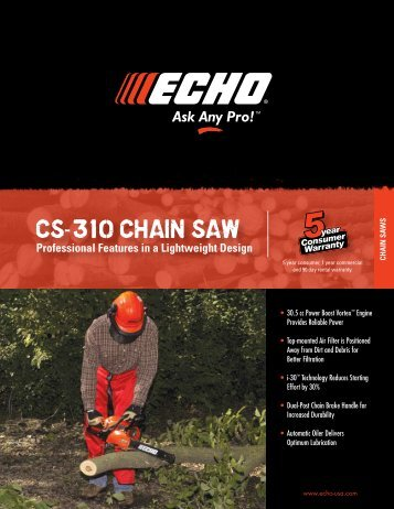 CS-310 CHAIN SAW