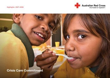 Annual report - Australian Red Cross