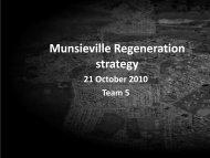 Group5_Munsieville Regeneration strategy - NDP