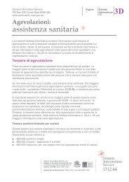 assistenza sanitaria 3D - Seniors Information Service