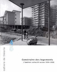 Construire des logements - Laboratoire de théorie et d'histoire de l ...