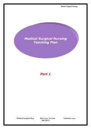 Medical Surgical Nursing Demystified Treatment Divshare
