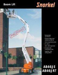 Product Spec Sheet - Blakley Equipment
