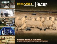 DRASH Applications - Military Systems & Technology