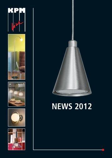 NEWS 2012 - KPM Leuchten